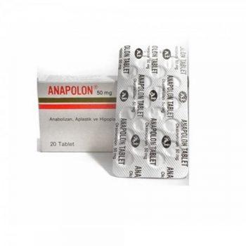 Anadrol (Anapolon) 50mg/100tabs – Abdi Ibrahim