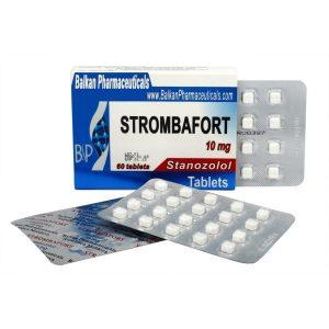 Strombafort (Stanozolol) 10mg/60 tab – Balkan Pharmaceuticals