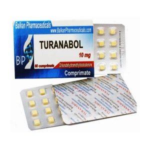 Turanabol (Turinabol) 10mg/60tabs – Balkan Pharmaceuticals