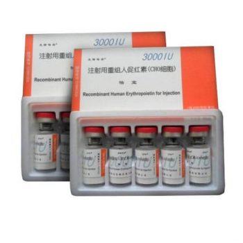 EPO Erythropoietin 3000iu 5 vials kit