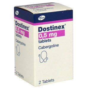 Dostinex (Cabergoline) 0.5mg/2tabs – Pfizer USA