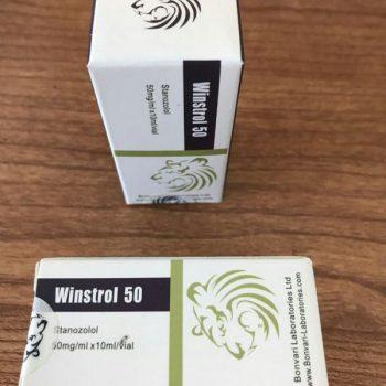 Winstrol 50mg Stanzolol 10ML